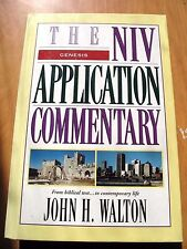 Genesis (NIV Application Commentary) by John H. Walton. hb