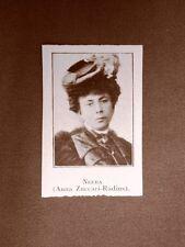Neera o Anna Zuccari Radius Milano, 7 maggio 1846 – Milano, 13 luglio 1918
