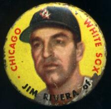 1956 Topps Jim Rivera, Chicago White Sox pinback button