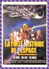 Postcard Poster Film - the Crazy Story of L'Espace