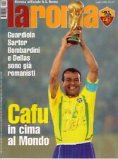 #### LA ROMA_Luglio 2002_n. 209 _MARCOS CAFU' _BRASILE_GUARDIOLA  + 2 posters