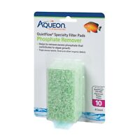 Aqueon QuietFlow Size 10 Phosphate Remover Filter Pads 4 Pack