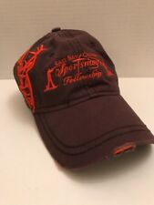 Dri Duck Hat  Cap East Bay Calvery Sportsmen's Fellowship Adjustable Cotton Brn
