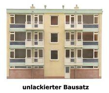 Artitec 10.283 - 1:87: Fassade Rückseite von Hochhaus, Bausatz, unlackiert - NEU