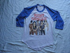 Night Ranger Vintage 1985 7 Wishes Tour Shirt Large 100% AUTHENTIC!!!
