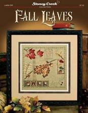 Fall Leaves LFT268 by Stoney Creek cross stitch pattern