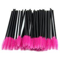 50pcs Durable Micro Brush Disposable Eyelash Brushes Swab Applicator Extension