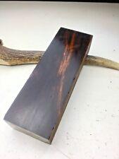 WÜSTENEISENHOLZ Griffschalen Griffblock Messer Desert Ironwood Griff Maser #28