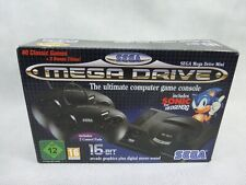 Sega Mega Drive 16 Bit Mini Games Console Retro Style New With Opened Box
