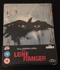 THE LONE RANGER Blu-Ray SteelBook Zavvi UK Exclusive Region Free 1st Ed OOP Rare