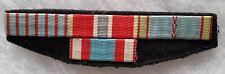 Placard Rappel Médaille WWII BRONZE STAR COMBATTANT AFN ORIGINAL MEDAL GROUP