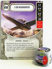 Star Wars Destiny - #056 z-95 Headhunter + dice-Grey-Empire at War