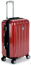 Delsey Luggage Helium Aero Carry On Expandable Spinner Trolley - Red
