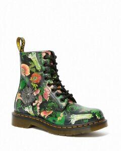 Dr Martens 1460 Pascal Wild Botanics Floral Leather Boots UK 6