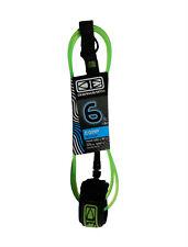 New listing 6ft Ocean & Earth Comp Surfboard Leash, Surfboard Leg Rope, Quality Leash, Green