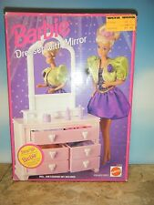1993 BARBIE DRESSER WITH MIRROR *NEW*
