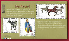 2012 Canada  # 2523  Souvenir Sheet   Joe Fafard  Art Canada  New Pristine Gum
