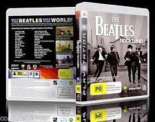 (PS3) The Beatles: Rock Band / Rockband (PG) (Music) Guaranteed, Tested, VGC wB