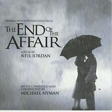 THE END OF THE AFFAIR original soundtrack score by Michael Nyman  cd