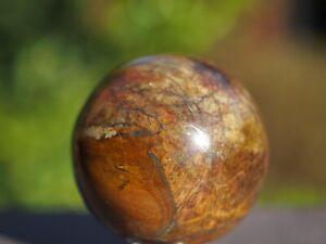 Tiger Eye Polished Crystal Sphere. 4.5 cm
