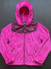Girls 7-8 (S) NORTH FACE Oso Azalea Pink/Parlour Purple Fleece Hoodie ~Fall BTS~