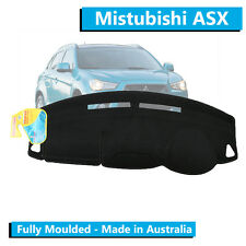 Mitsubishi ASX (2011-Current) - Aftermarket Dash Mat - Black - Moulded