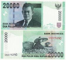 Indonesia P-144 2009 20000 Rupiah (Gem UNC)