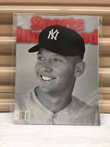 "Sports illustrated ""Mickey Mantle"" August 21, 1995"