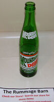 vintage MOUNTAIN DEW YA-HOO 10 oz GREEN GLASS BOTTLE soda pop