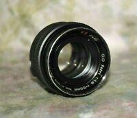 Petri 55mm f1.8 C.C Auto Camera Lens