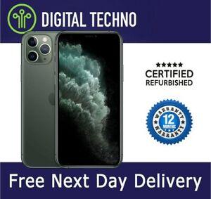 Unlocked Apple iPhone 11 Pro - Midnight Green 256GB Network & SIM Free +Warranty