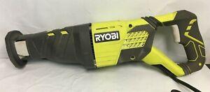 Ryobi RJ1861V Corded 120V 12AMP Variable Speed Reciprocating Saw G, M