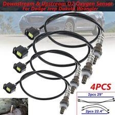 4X O2 Oxygen Sensors for Jeep Wrangler Dodge Upstream & Downstream Front Rear