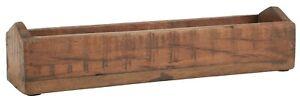 Ib Laursen Holzkiste länglich mit kurvigen Enden UNIKA 35cm 23035-00