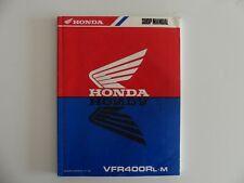 original Honda VFR 400 R L m Werkstatthandbuch Reparaturanleitung service manual