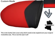 BLACK AND RED CUSTOM FITS MV AGUSTA F4 750 1000 99-09 REAR PILLION SEAT COVER