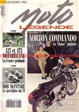 MOTO LEGENDE  20 NORTON 750 Commando Fastback MOTOBECANE 125 175 ZS Z46 Z2 C Z56