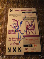 Northwestern Wildcats- Ohio State Buckeyes 1982 NCAA Football Game Ticket Stub