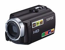 SEREE Camera Camcorder HDV-501 FHD 1080P WIFI Connection 60FPS Dual SD Slot N...