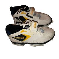 Vtg TEAM NFL San Diego LA Los Angeles Chargers Sneakers Sz 6.5 RARE Football  A5
