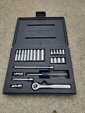New Listingvintage Craftsman V 14 Drive 24pc Socket Set Sae 6pt Fine Tooth Ratchet