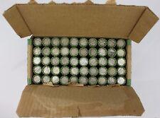 SEALED $250 90% Silver Dimes Box Lot 50 Rolls Roosevelt Mercury Roll P D S Dime