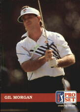 1992 Pro Set Golf Card #106 Gil Morgan