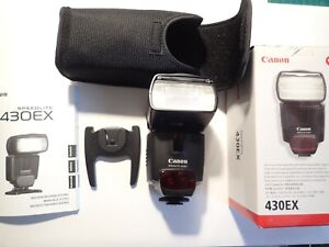 Canon Speedlite 430EX  Flash pour Canon