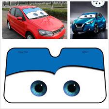 130cm x 70 Cartoon Big Eyes Front Window Car Windscreen Sun Shade Block Screen