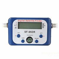 Digital LCD Satellite signal Finder Directv Dish avec Boussole FAT SF-95DR WT