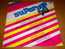 SUPERPOP '78 Rino Gaetano Lucio Dalla Ivano Fossati LP RCA 1978 made in Italy