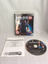 Mass Effect 3 Playstation 3 Game Ps3