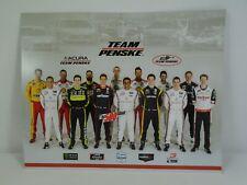 Team Penske Collector Handout IndyCar Nascar IMSA Weathertech OTR Supersprint