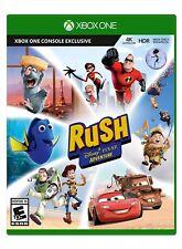 Rush: A Disney Pixar Adventure [Microsoft Xbox One XB1, Mini Games, Cars] NEW